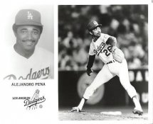Alejandro Pena LA Dodgers Original Press Photo / Wire Photo 8x10