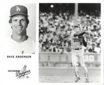 Dave Anderson LA Dodgers Original Press Photo / Wire Photo 8x10