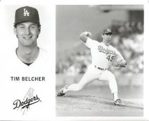 Tim Belcher LA Dodgers Original Press Photo / Wire Photo 8x10