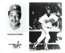 Franklin Stubbs LA Dodgers Original Press Photo / Wire Photo 8x10