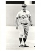 Tommy Lasorda Original Press Photo / Wire Photo 8x10 LA Dodgers Slight Crease