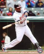 Carlos Santana LIMITED STOCK Cleveland Indians 8X10 Photo