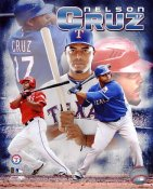 Nelson Cruz Texas Rangers 8X10 Photo