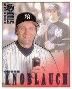 Chuck Knoblauch LIMITED STOCK RARE DonRuss Studio New York Yankees 8X10 Photo