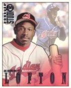 Kenny Lofton LIMITED STOCK RARE DonRuss Studio Cleveland Indians 8X10 Photo