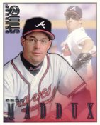 Greg Maddux LIMITED STOCK RARE DonRuss Studio Atlanta Braves 8X10 Photo