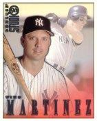 Tino Martinez LIMITED STOCK RARE DonRuss Studio New York Yankees 8X10 Photo