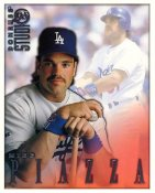 Mike Piazza LIMITED STOCK RARE DonRuss Studio Los Angeles Dodgers 8X10 Photo