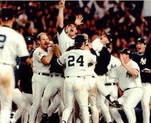 John Wetteland, Tino Martinez, Wade Boggs, Bernie Williams, Charlie Hayes, David Cone & Andy Pettitte 1996 World Series LIMITED STOCK New York Yankees 11x14 Photo