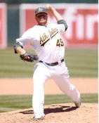 Brett Anderson Oakland Athletics 8x10 Photo