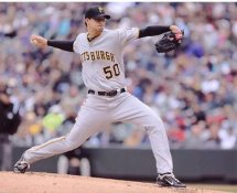 Charlie Morton Pittsburgh Pirates 8X10 Photo