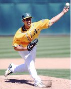 Gio Gonzalez Oakland Athletics 8X10 Photo
