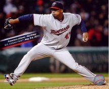 Francisco Liriano No Hitter May 3, 2011 Minnesota Twins 8X10 Photo