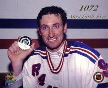 Wayne Gretzky 1072 Goal Upper Deck Photo New York Rangers LIMITED STOCK 8x10 Photo