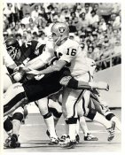 George Blanda Tackled By LC Greenwood LIMITED STOCK Oakland Raiders 8X10 Photo