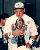 Troy Aikman W/ Lombardi Trophy SB 28 LIMITED STOCK 8X10 Photo