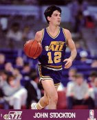John Stockton SUPER SALE Slight Corner Creases Utah Jazz 8X10 Photo
