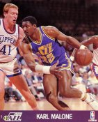 Karl Malone SUPER SALE Slight Corner Creases Utah Jazz 8X10 Photo