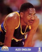 Alex English LIMITED STOCK Denver Nuggets 8X10 Photo