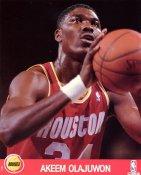 Akeem Olajuwon LIMITED STOCK Houston Rockets 8X10 Photo
