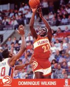 Dominique Wilkins SUPER SALE Slight Corner Creases Atlanta Hawks 8X10 Photo
