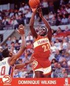 Dominique Wilkins SUPER SALE Slight Corner Creases Atlanta Hawks 8X10 Photo