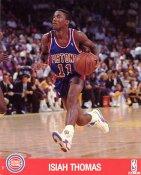 Isiah Thomas SUPER SALE Slight Creases Detroit Pistons 8X10 Photo