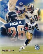 Marshall Faulk LIMITED STOCK St. Louis Rams 8X10