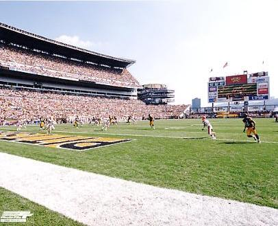 N2 Heinz Field With Hines Ward LIMITED STOCK 8X10 Photo