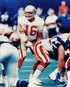 Joe Montana LIMITED STOCK San Francisco 49ers 8X10 Photo