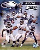 David Akers,Jevon Kearse,Brian Westbrook,Terrell Owens, Donovan McNabb LIMITED STOCK Philadelphia Eagles 8X10 Photo