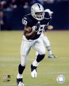 Randy Moss LIMITED STOCK Oakland Raiders 8X10 Photo