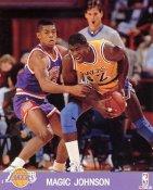 Magic Johnson LIMITED STOCK Los Angeles Lakers 8x10 Photo