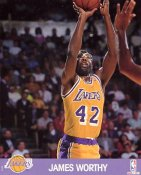 James Worthy LIMITED STOCK Los Angeles Lakers 8x10 Photo