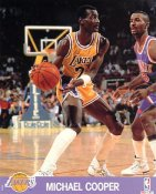 Michael Cooper LIMITED STOCK Los Angeles Lakers 8x10 Photo