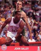 John Salley LIMITED STOCK Detroit Pistons 8x10 Photo