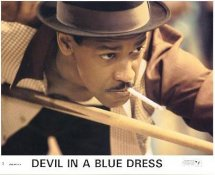 Denzel Washington In Devil In A Blue Dress LIMITED STOCK 8X10 Original Lobby Card Photo