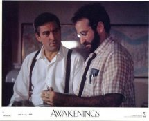 Robin Williams & Robert DeNiro In Awakenings LIMITED STOCK 8X10 Original Lobby Card Photo