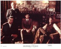 Brad Pitt, Anthony Hopkins & Aidan Quinn In Legends of the Fall LIMITED STOCK 8X10 Original Lobby Card Photo