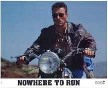 Jean-Claude Van Damme In Nowhere To Run LIMITED STOCK 8X10 Original Lobby Card Photo
