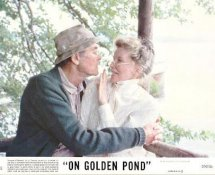 Henry Fonda & Katharine Hepburn On Golden Pond LIMITED STOCK 8X10 Original Lobby Card Photo