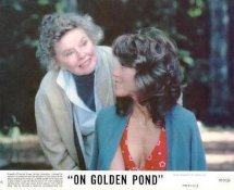Jane Fonda & Katharine Hepburn On Golden Pond LIMITED STOCK 8X10 Original Lobby Card Photo