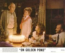 Henry Fonda, Jane Fonda,  Katharine Hepburn & Dabney Coleman On Golden Pond LIMITED STOCK 8X10 Original Lobby Card Photo