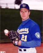 Cal Eldred LIMITED STOCK Milwaukee Brewers 8x10 Photo