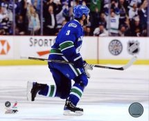 Kevin Bieksa Winning OT Goal Game 5 Western Conference Finals Vancouver Canucks 8x10 Photo