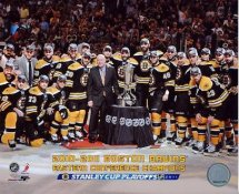 Bruins 2010-2011 Eastern Conference Champions Boston 8x10 Photo