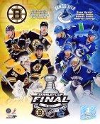 Bruins 2011 Vs Canucks Stanley Cup Final 8x10 Photo