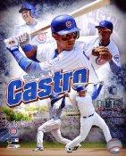 Starlin Castro Chicago Cubs 8X10 Photo