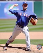 Colby Lewis Texas Rangers 8X10 Photo