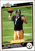 Ben Roethlisberger 2004 Score Rookie Card in Steelers COMPLETE TEAM SET (Includes all 12 cards) Jerome Bettis, Hines Ward, Joey Porter etc. NEW CONDITION